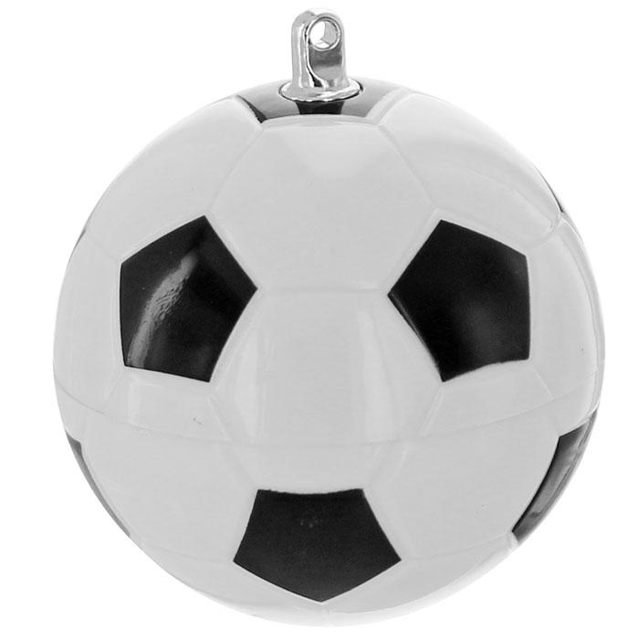 """USB-флеш накопитель """"Футбольный мяч"""", цвет: белый, черный, 4 Гб"""