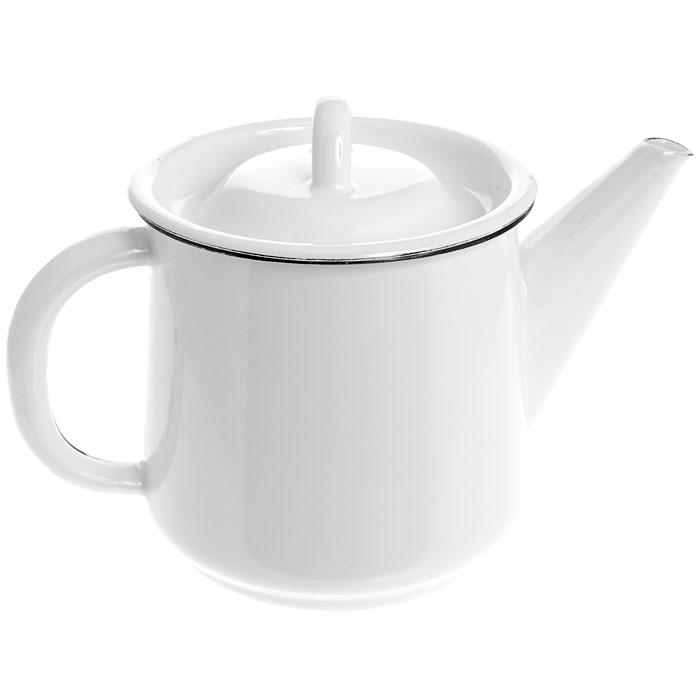 Чайник эмалированный, 1 л. 2С2022С202Чайник, выполненный из высококачественной стали и покрытый эмалью, предназначен для кипячения воды. Чайник имеет классическую форму, оснащен удобной ручкой, крышкой и носиком. Такой чайник не требует особого ухода и его легко мыть. Благодаря классическому дизайну и удобству в использовании чайник займет достойное место на вашей кухне. Характеристики: Материал: эмалированная сталь. Диаметр чайника по верхнему краю: 11 см. Высота чайника (без учета крышки): 12 см. Объем: 1 л. Производитель: Россия. Артикул: 2С202.