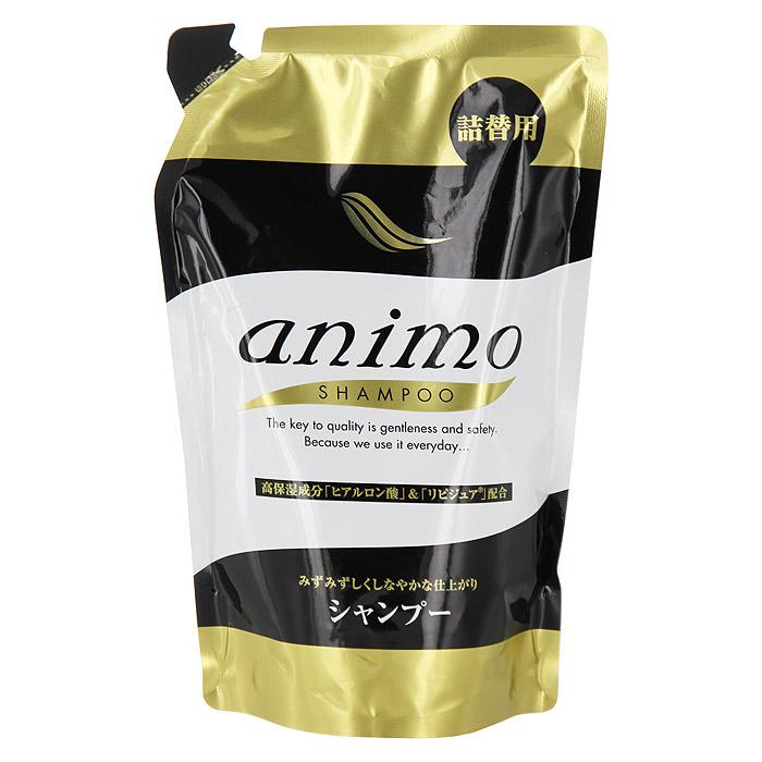 """Rocket Soap Увлажняющий шампунь для волос """"Animo"""", сменная упаковка, 380 мл 800772"""