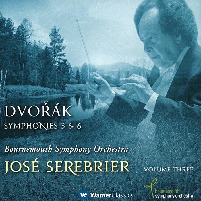 Jose Serebrier, Bournemouth Symphony Orchestra. Dvorak. Symphonies 3 & 6