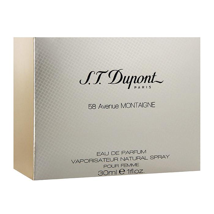 "S.T. Dupont Парфюмерная вода ""58 Avenue Montaingne Pour Femme"", 30 мл 11520"