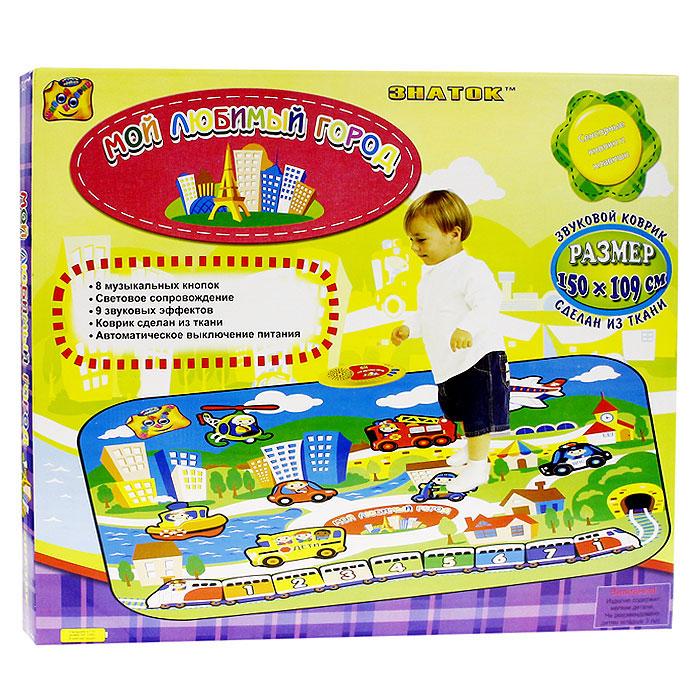 Музыкальный коврик Мой любимый город2783860Музыкальный коврик Мой любимый город станет отличной площадкой для игр вашему малышу! Коврик с 8 музыкальными кнопками, 9 звуковыми эффектами и световым сопровождением не только доставит удовольствие малышам во время игры, но и поспособствует их развитию, позволит больше узнать об окружающем мире. Коврик воспроизводит звуки, соответствующие изображенным на нем предметам. Звуки сопровождаются свечением лампочки на консоли. Нажатием на сенсорные клавиши можно воспроизводить различные мелодии. Дети легко обучаются обращению с ковриком, а мелодии и звуки, которые он позволяет воспроизводить, способствуют развитию восприятия и творческого самовыражения. Коврик легко складывается и удобен при переноске и хранении.