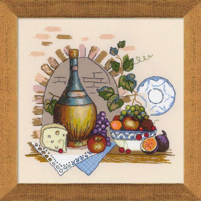 Набор для вышивания Натюрморт с сыром, 35 х 35 см1303Красивый и стильный рисунок-вышивка, выполненный на канве, выглядит оригинально и всегда модно. В наборе для вышивания Натюрморт с сыром есть все необходимое для создания собственного чуда: канва, специальные нити, игла и схема рисунка. Работа, сделанная своими руками, создаст особый уют и атмосферу в доме и долгие годы будет радовать вас и ваших близких. Ведь вы выполните вышивку с любовью!