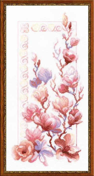 Набор для вышивания Магнолии, 25 х 50 см1278Красивый и стильный рисунок-вышивка, выполненный на канве, выглядит оригинально и всегда модно. В наборе для вышивания Магнолии есть все необходимое для создания собственного чуда: канва, специальные нити, игла и схема рисунка. Работа, сделанная своими руками, создаст особый уют и атмосферу в доме и долгие годы будет радовать вас и ваших близких. Ведь вы выполните вышивку с любовью!