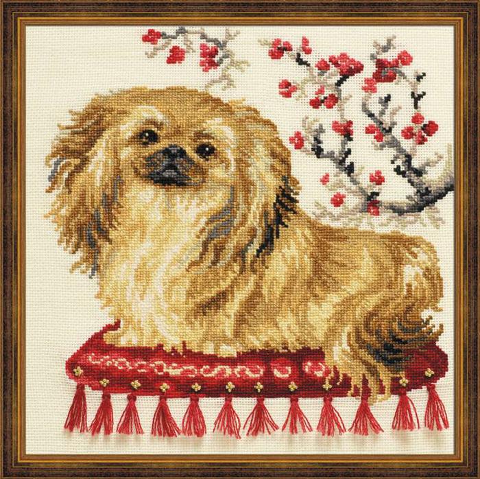 Набор для вышивания Пекинес, 25 см х 25 см1243Красивый и стильный рисунок-вышивка, выполненный на канве, выглядит оригинально и всегда модно. В наборе для вышивания Пекинес есть все необходимое для создания собственного чуда: канва, специальные нити, игла и схема рисунка. Работа, сделанная своими руками, создаст особый уют и атмосферу в доме и долгие годы будет радовать вас и ваших близких. Ведь вы выполните вышивку с любовью!