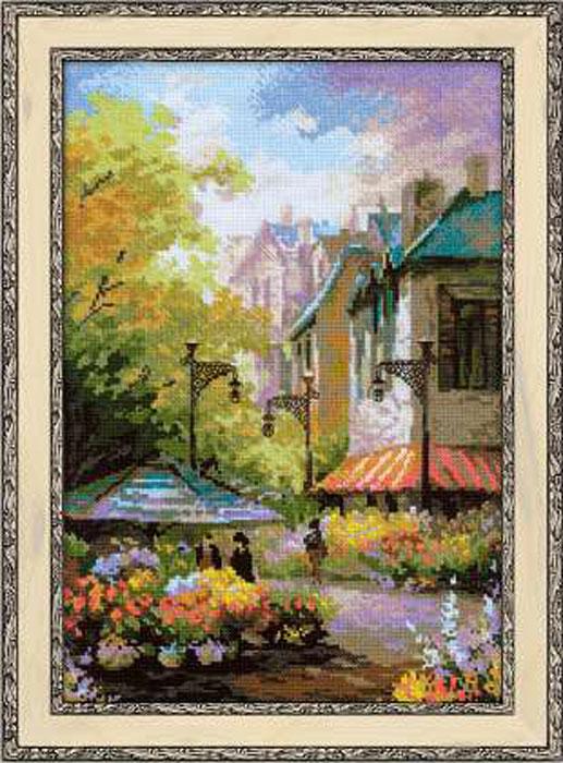 Набор для вышивания Цветочная улица, 26 х 38 см1306Красивый и стильный рисунок-вышивка, выполненный на канве, выглядит оригинально и всегда модно. В наборе для вышивания Цветочная улица есть все необходимое для создания собственного чуда: канва, специальные нити, игла и схема рисунка. Работа, сделанная своими руками, создаст особый уют и атмосферу в доме и долгие годы будет радовать вас и ваших близких. Ведь вы выполните вышивку с любовью!