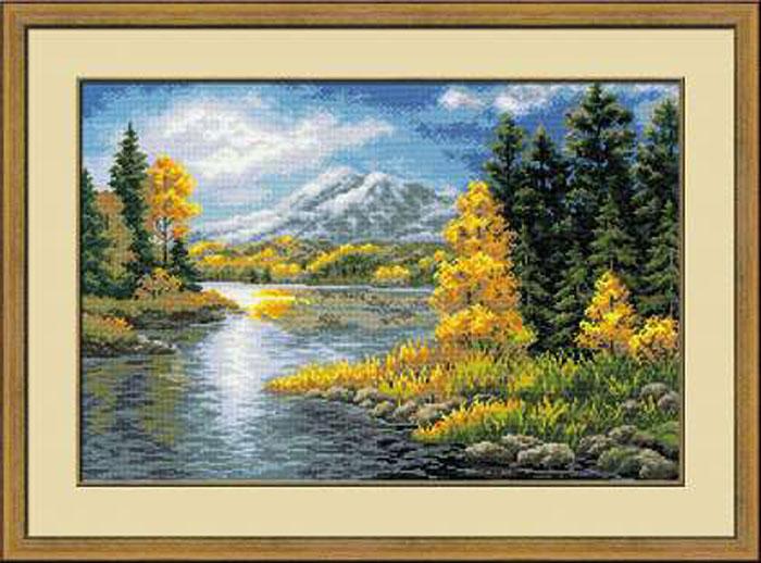 Набор для вышивания Озеро в горах, 60 см х 40 см1235Красивый и стильный рисунок-вышивка, выполненный на канве, выглядит оригинально и всегда модно. В наборе для вышивания Озеро в горах есть все необходимое для создания собственного чуда: канва, специальные нити, игла и схема рисунка. Работа, сделанная своими руками, создаст особый уют и атмосферу в доме и долгие годы будет радовать вас и ваших близких. Ведь вы выполните вышивку с любовью!