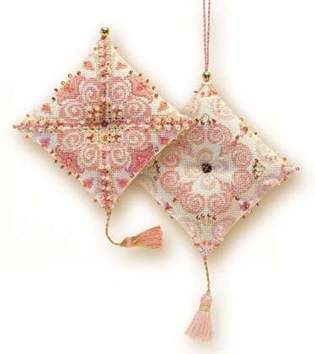 Набор для вышивания крестом Riolis Зигугу. Забава, 8 х 8 см1228