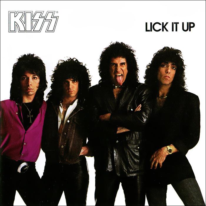 Kiss. Lick It Up