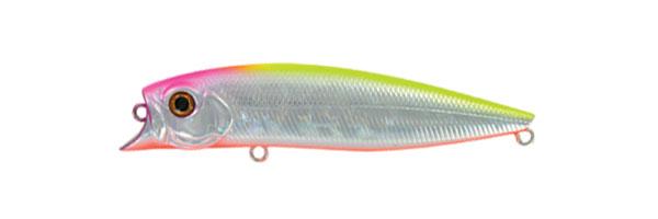 Воблер Tsuribito Jerk POP, длина 11 см, вес 14,4 г. 110F/01422763Воблер Tsuribito Jerk POP необычная, но очень результативная приманка. При небольших рывках отлично имитирует подраненную рыбку. При остановках приманка выходит на поверхность, а при рывках уходит на полметра. Эти качества позволяют эффективно ловить рыбу в мелководных заливах над зарослями травы. Характеристики: Материал: металл, пластик. Длина: 11 см. Вес: 14,4 г. Цвет тела: 014 Рабочая глубина: 0,5 - 0,8 м. Плавучесть - плавающий. Размер упаковки: 16,3 см х 4 см х 2,8 см. Производитель: Япония. Артикул: 110F/014.
