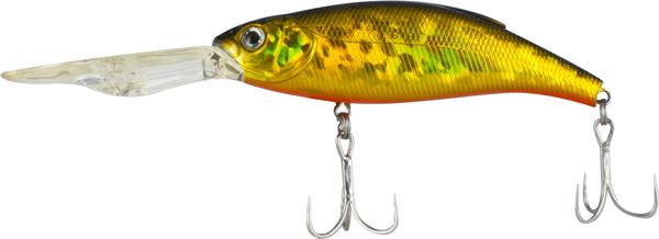 Воблер Tsuribito Deep Shaker 100F, № 002, длина 10 см, вес 31 г. 2889528895Deep Shaker 100F - плавающий воблер для троллинговой ловли. Кроме довольно привлекательной игры воблера, благодаря шарикам внутри, приманка обладает акустическим воздействием на рыбу.