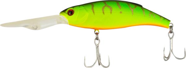 Воблер Tsuribito Deep Shaker 100F, № 028, длина 10 см, вес 31 г. 2889928899Deep Shaker 100F - плавающий воблер для троллинговой ловли. Кроме довольно привлекательной игры воблера, благодаря шарикам внутри, приманка обладает акустическим воздействием на рыбу. Характеристики: Длина: 10 см. Вес: 31 г. Цвет тела: 028. Глубина: 4-5 м. Плавучесть: плавающий. Материал: металл, пластик. Производитель: Китай. Артикул: 28899.
