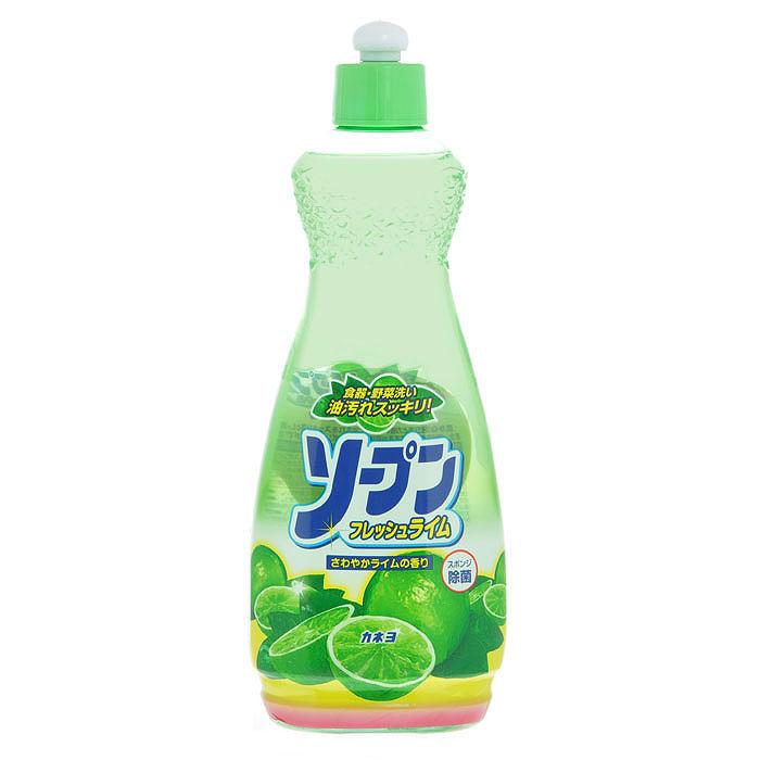 Жидкость для мытья посуды Kaneyo, свежий лайм, 600 мл201052Жидкость Kaneyo с приятным освежающим ароматом лайма предназначена для мытья посуды, кухонной утвари и дезинфекции губок для мытья посуды. Обладает антибактериальным действием и удаляет любые неприятные запахи, например, с разделочных досок. Великолепно справляется с жиром даже в холодной воде. Благодаря содержанию моющих компонентов растительного происхождения, средство очень мягко воздействует на кожу рук, не раздражая ее. Подходит для мытья овощей и фруктов. Характеристики: Объем: 600 мл. Артикул: 201052. Товар сертифицирован.