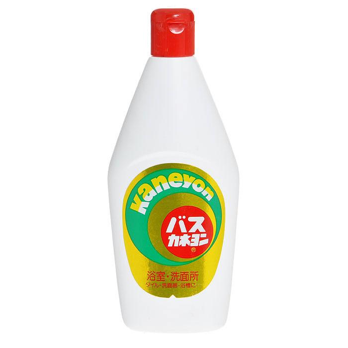 Крем чистящий для ванны Kaneyon, 550 г599176Средство кремовой консистенции Kaneyon предназначено для чистки эмалированных, керамических и кафельных поверхностей в ванной комнате - кафельной плитки, эмалированных и керамических ванн, кранов, тазов, баков, ведер, предметов гигиены. Способ применения : нанесите небольшое количество средства на влажную губку и протрите необходимую поверхность. Затем помойте поверхность чистой влажной губкой или полотенцем.