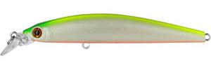 Воблер Tsuribito Minnow, длина 9,5 см, вес 9,6 г. 95S/03895S/038Воблер Minnow 95S подходит для ловли самой разнообразной, особенно крупной, рыбы. Обладает отменной реалистичной игрой при равномерной проводке. Воблер устойчиво работает на течении, что расширяет возможности применения этой приманки. Система дальнего заброса позволяет добиться хорошей дальности.