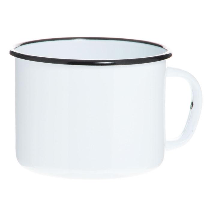 Кружка эмалированная, 1 лС-0107Кружка изготовлена из высококачественной стали и покрыта эмалью. Такая кружка не требует особого ухода и ее легко мыть. Благодаря классическому дизайну и удобству в использовании кружка займет достойное место на вашей кухне. Характеристики: Материал: эмалированная сталь. Диаметр кружки по верхнему краю: 13 см. Высота кружки: 9,5 см. Объем: 1 л. Артикул: С-0107.