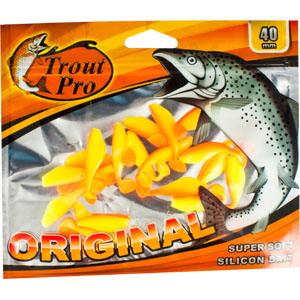 Риппер Trout Pro Original, длина 4 см, 20 шт. 3522835228Приманка предназначена для джиговой ловли хищной рыбы: окуня, судака, щуки. Специальная пластина придает приманке колебательные движения, усиливая ее сходство с живой рыбкой.
