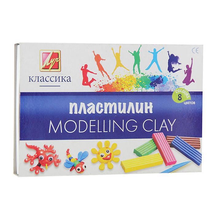 Пластилин Классика, со стеком, 8 цветов12С 867-08Цветной пластилин Классика, предназначенный для лепки и моделирования, поможет ребенку развить творческие способности, воображение и мелкую моторику рук. Пластилин обладает отличными пластичными свойствами, быстро размягчается, хорошо держит форму и не липнет к рукам. Легко отмывается с рук и отстирывается от одежды. Пластилин нетоксичен, безопасен для здоровья. В наборе пластилин восьми насыщенных цветов: белого, желтого, красного, оранжевого, черного, зеленого, синего и фиолетового и стек.