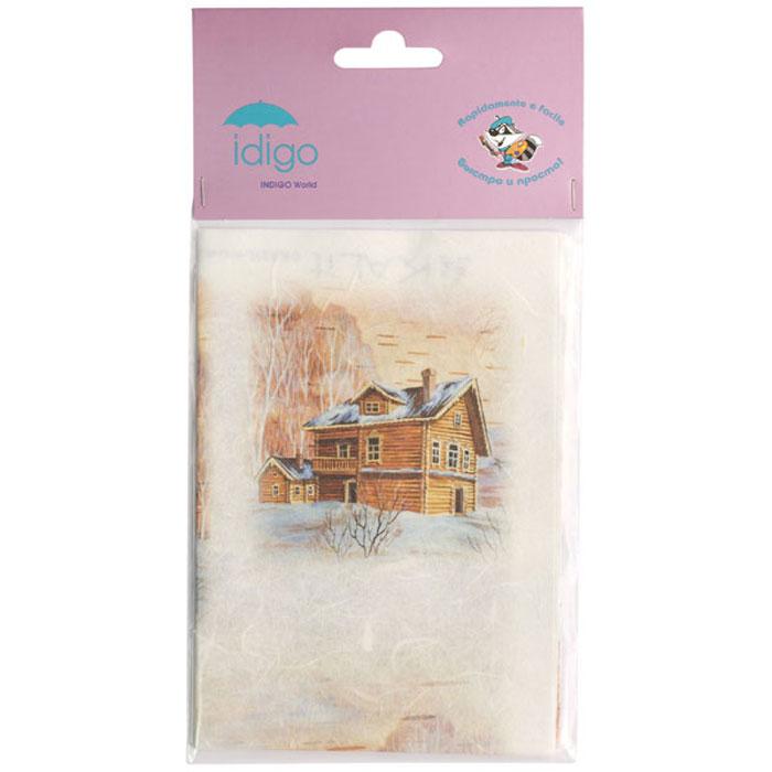 Декупажная карта на рисовой бумаге Деревянный дом зимой, 32 x 45 см51000400/d237Декупажная карта на рисовой бумаге Деревянный дом зимой позволит вам создать удивительные образы на изделиях из керамики, стекла, фарфора, ткани, дерева, картона, металла или пластика. Выбрав понравившийся мотив декупажной карты, вы сможете создать оригинальные шкатулки, рамки, вазы, подставки, тарелки и многое другое. Для этого нужно нанести на чистую поверхность слой клея или лака для декупажа, разложить нужный вырезанный фрагмент декупажной карты и кисточкой разгладить рисунок по направлению от центра к краям, во избежание образования пузырьков воздуха. Сверху можно нанести еще один закрепляющий слой клея или лака. Рисунки на рисовой бумаге хорошо ложатся как на ровные, так и на рельефные и объемные поверхности и ткань. Полученные изделия станут прекрасным украшением вашего интерьера или послужат замечательным подарком для близких и друзей. Декупаж - это декоративная техника, заключающаяся в филигранном вырезании изображений из различных материалов: бумаги, дерева,...