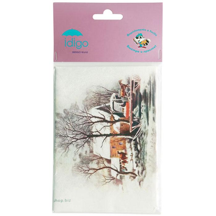 Декупажная карта на рисовой бумаге Дом на реке в снегу, 32 x 45 см51000487/d251Декупажная карта на рисовой бумаге Дом на реке в снегу позволит вам создать удивительные образы на изделиях из керамики, стекла, фарфора, ткани, дерева, картона, металла или пластика. Выбрав понравившийся мотив декупажной карты, вы сможете создать оригинальные шкатулки, рамки, вазы, подставки, тарелки и многое другое. Для этого нужно нанести на чистую поверхность слой клея или лака для декупажа, разложить нужный вырезанный фрагмент декупажной карты и кисточкой разгладить рисунок по направлению от центра к краям, во избежание образования пузырьков воздуха. Сверху можно нанести еще один закрепляющий слой клея или лака. Рисунки на рисовой бумаге хорошо ложатся как на ровные, так и на рельефные и объемные поверхности и ткань. Полученные изделия станут прекрасным украшением вашего интерьера или послужат замечательным подарком для близких и друзей. Декупаж - это декоративная техника, заключающаяся в филигранном вырезании изображений из различных материалов: бумаги, дерева,...