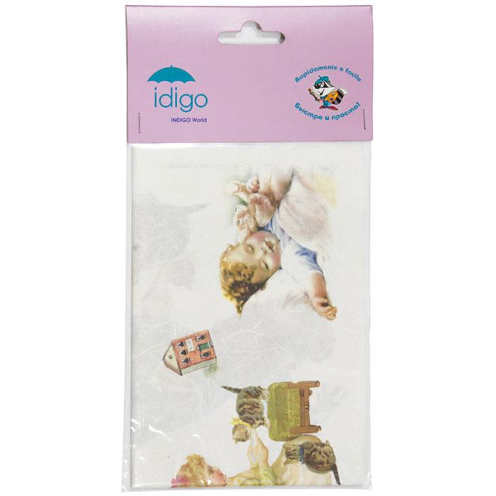 Декупажная карта на рисовой бумаге Детство, 32 x 45 см51000597/d01Декупажная карта на рисовой бумаге Детство позволит вам создать удивительные образы на изделиях из керамики, стекла, фарфора, ткани, дерева, картона, металла или пластика. Выбрав понравившийся мотив декупажной карты, вы сможете создать оригинальные шкатулки, рамки, вазы, подставки, тарелки и многое другое. Для этого нужно нанести на чистую поверхность слой клея или лака для декупажа, разложить нужный вырезанный фрагмент декупажной карты и кисточкой разгладить рисунок по направлению от центра к краям, во избежание образования пузырьков воздуха. Сверху можно нанести еще один закрепляющий слой клея или лака. Рисунки на рисовой бумаге хорошо ложатся как на ровные, так и на рельефные и объемные поверхности и ткань. Полученные изделия станут прекрасным украшением вашего интерьера или послужат замечательным подарком для близких и друзей. Декупаж - это декоративная техника, заключающаяся в филигранном вырезании изображений из различных материалов: бумаги, дерева, ткани, кожи....