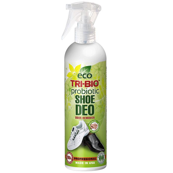 Биологический дезодорант Tri-Bio для обуви, 0,21 л0172Дезодорант Tri-Bio - пробиотическое средство, моментально и полностью уничтожает неприятные запахи в обуви и ткани. Уничтожает вредные бактерии. В отличие от стандартных химических продуктов, ликвидирует неприятные запахи, не маскируя их, а устраняя их причину. По результату действия превосходит большинство современных химических дезодорирующих средств. Для здоровья: Без фосфатов, растворителей, хлора отбеливающих веществ, абразивных веществ, красителей, токсичных веществ, нейтральный pH. Безопасная альтернатива химическим аналогам. Присвоен сертификат ECO GREEN. Для окружающей среды: Низкий уровень ЛОС, биоразлагаем, минимальное влияние на водные организмы. Особо рекомендуется использовать в домах с автономной канализацией. Характеристики: Объем: 0,21 л. Артикул: 0172.