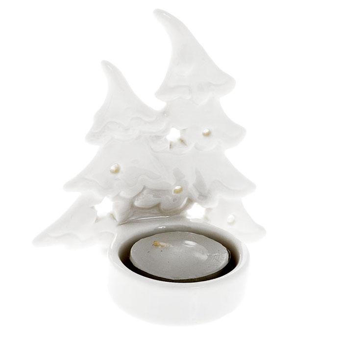 Новогодний декоративный подсвечник Елка/Снежинка, в ассортименте0081-0012Новогодний декоративный подсвечник Елка/Снежинка выполнен из высококачественной керамики белого цвета. Подсвечник украсит интерьер вашего дома или офиса в преддверии Нового года. Оригинальный дизайн и красочное исполнение создадут праздничное настроение.