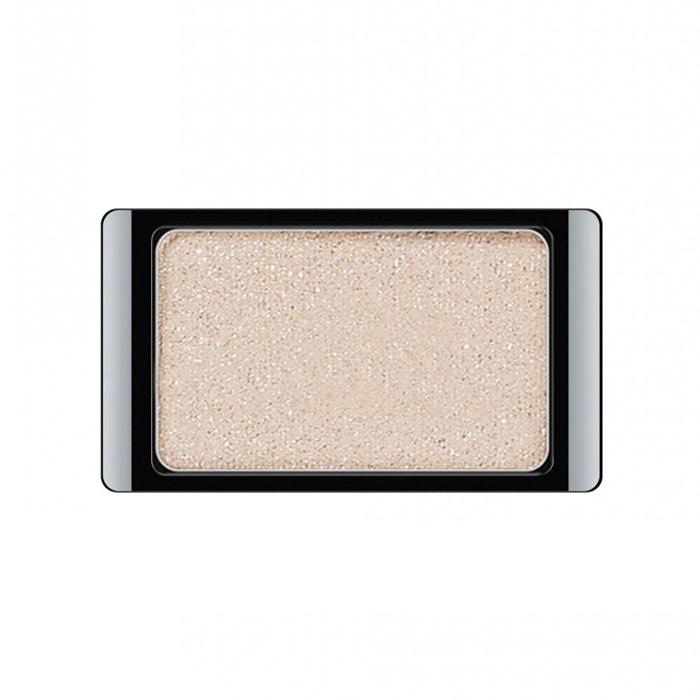 Artdeco Тени для век, с блестками, 1 цвет, тон №373, 0,8 г30.373Тени для век Artdeco с блестками - шелковистые мягкие тени с мерцающим блеском, придадут вашему макияжу шик и роскошь. Подобранные в изящные магнитные палитры они придадут обворожительное сияние любому вашему событию!