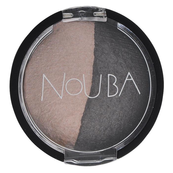 Nouba Тени для век Double Bubble, 2 цвета, тон №25, 2 гN25325Тени для век Nouba Double Bubble имеют прозрачную, как шифон, текстуру, на основе инновационной формулы без талька, с невероятной естественной насыщенностью цвета, придает взгляду особую выразительность. Входящие в состав витамин Е и масло жожоба бережно ухаживают за кожей век. Для легкого сияющего макияжа, благодаря уникальной технологии запекания, тени можно наносить невероятно-тонким слоем. Для получения яркого и насыщенного цвета используйте нанесение увлажненным аппликатором (прилагается).