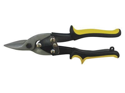 Ножницы по металлу Vira, прямой рез, цвет: желтый
