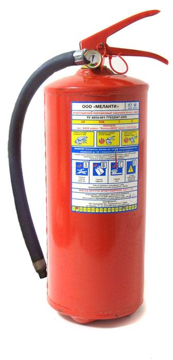 Огнетушитель порошковый ОП-4 с манометром, 4 л