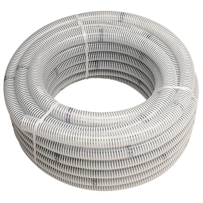 Шланг Ali-flex Combo, 25 мм x 25 м3730141Напорно-всасывающий шланг Ali-flex Combo изготовлен из ПВХ пищевого качества. Шланг прозрачный в жесткой спиральной оплетке, отличается высокой прочностью. Рабочая температура от -10°C до +60°C. Можно применять для питьевой воды.