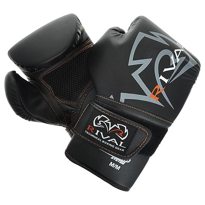 Перчатки снарядные Rival, цвет: черный. Размер 10 унций. RB60 CRB60 CСнарядные перчатки Rival цвета, выполненные из высококачественной искусственной кожи, идеально подойдут для тренировок и упражнений на снарядах, для работы по мешкам и лапам. Украшены перчатки логотипом компании. Перчатки выполнены в анатомическом дизайне и оснащены многослойным пенным наполнителем высокой плотности и сетчатой прослойкой, не дающей ладоням вспотеть во время тренировки. Перчатки прочно фиксируются на запястье широкой резинкой, что гарантирует быстроту и удобство одевания (система крепления запястья Ergo Strap System).