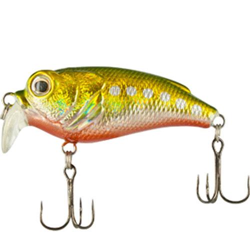 Воблер Trout Pro Shallow Crank 45F, длина 4,5 см, вес 8 г. 3557235572Воблер Trout Pro Shallow Crank 45F- маленький и быстрый микровоблер, предназначенный для ловли различных видов рыб (язя, голавля, окуня и щуки). На данную приманку удобно ловить, сплавляя ее по течению. Также оптимально делать проводку вверх по течению, останавливая приманку в наиболее интересных и перспективных местах реки.