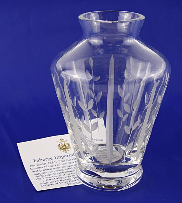 Графин для воды. Хрусталь, гравировка, House of Faberge. Вторая половина ХХ века