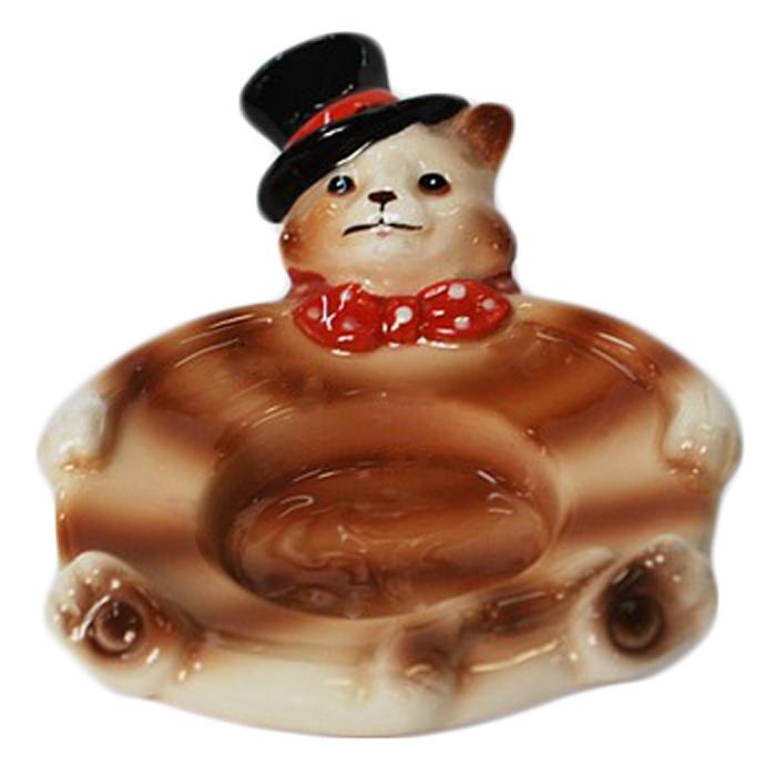 Декоративный подсвечник Кот в шляпе. Ф21-1361Ф21-1361Декоративный подсвечник Кот в шляпе украсит интерьер вашего дома. Оригинальный дизайн и красочное исполнение создадут праздничное настроение. Подсвечник выполнен в виде кота в шляпе. Вы можете поставить подсвечник в любом месте, где он будет удачно смотреться и радовать глаз. Кроме того - это отличный вариант подарка для ваших близких и друзей. Характеристики: Материал: керамика. Размер подсвечника: 12 см х 9 см х 6 см. Изготовитель: Китай. Артикул: Ф21-1361.