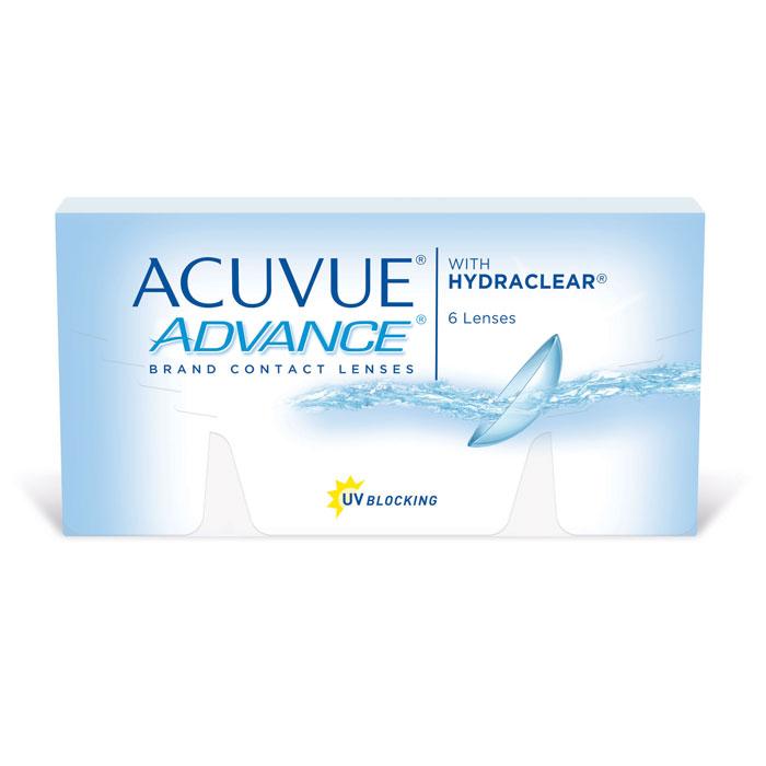 Johnson & Johnson контактные линзы Acuvue Advance (6шт / 8.3 / +5.75)