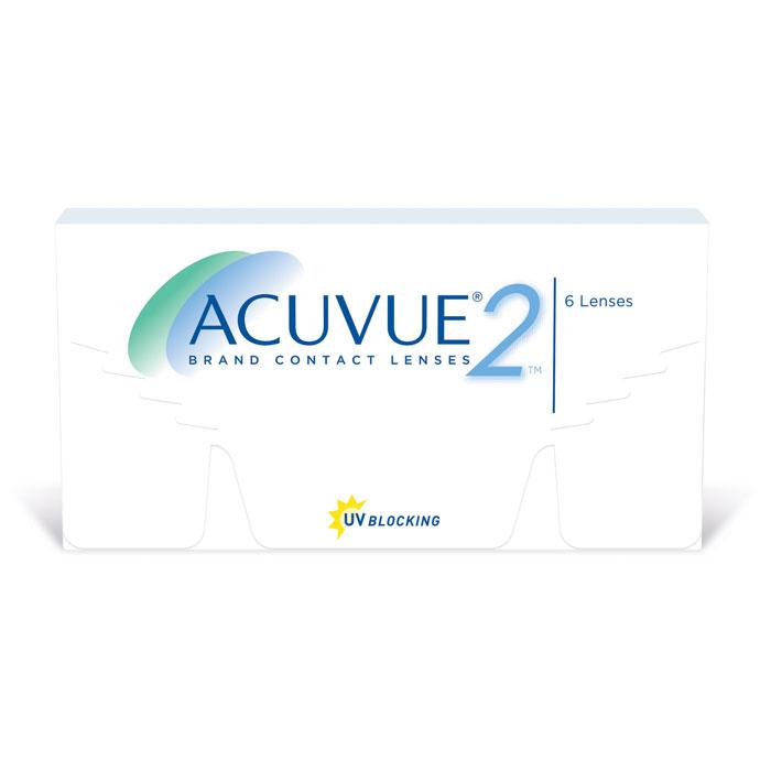 Johnson & Johnson контактные линзы Acuvue 2 (6шт / 8.7 / 14.0 / +5.25)
