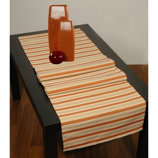 Дорожка для декорирования стола Schaefer, прямоугольная, цвет: бежевый, 40 x 140 см 4071-2114071-211Прямоугольная дорожка Schaefer, выполненная из волокон полиэстера, акрила и вискозы бежевого цвета и оформленная полосатым рисунком, предназначена для декорирования стола, комода или тумбы. Благодаря такой дорожке вы защитите поверхность мебели от воды, пятен и механических воздействий, а также создадите атмосферу уюта и домашнего тепла в интерьере вашей квартиры. Изделия из искусственных волокон легко стирать: они не мнутся, не садятся и быстро сохнут, они более долговечны, чем изделия из натуральных волокон.