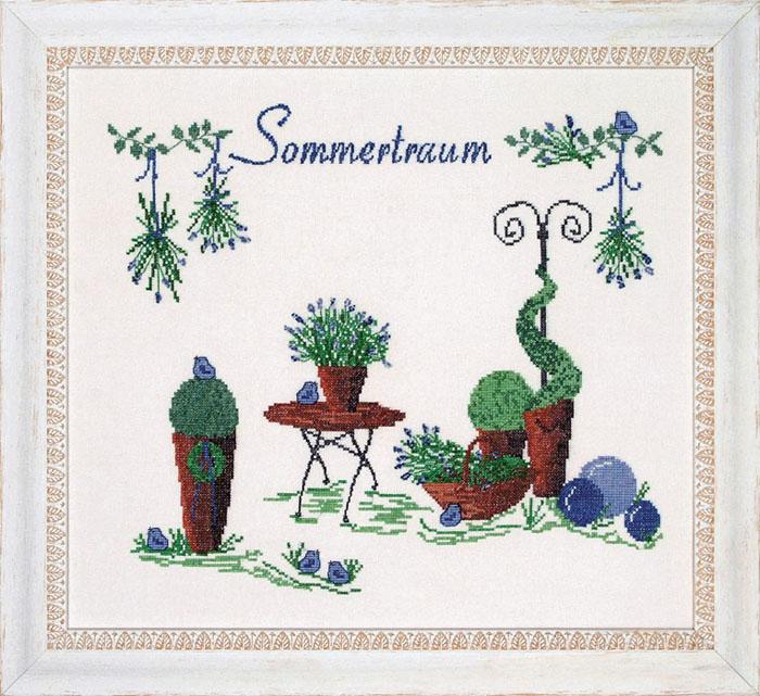 Набор для вышивания Acufactum Летние мечты, 34 см х 31 см2201-03В наборе для вышивания Acufactum Летние мечты есть все необходимое для создания собственного чуда: 12-ти ниточный лен (основа для вышивки), однониточное матовое мулине, цветная символьная схема и игла. Красивый и стильный рисунок-вышивка, оформленный изображением цветочных растений в горшках и выполненный в канве, выглядит оригинально и всегда модно. Благодаря такому набору вы получаете возможность вышить прекрасную картину. Наборы для вышивания Acufactum не производятся в промышленных масштабах, что говорит об их эксклюзивности. Оригинальные сюжеты Ute Menze с проработанной схемой доставят вам массу удовольствия во время творчества. А готовые работы не останутся не замеченными вашими друзьями! Acufactum - это синоним восхитительного стиля!