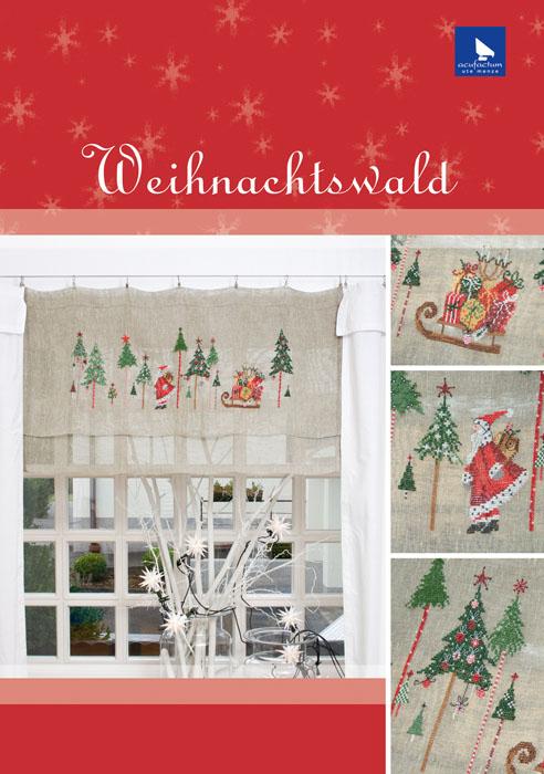 Набор для вышивания Acufactum Рождественский лес, 16 см х 50 см282165В наборе для вышивания Acufactum Рождественский лес есть все необходимое для создания собственного чуда: 12-ти ниточный лен (основа для вышивки), однониточное матовое мулине, цветная символьная схема и игла. Красивый и стильный рисунок-вышивка, оформленный изображением волшебного рождественского леса с нарядными елочками и Дедом Морозом и выполненный на канве, выглядит оригинально и обязательно создаст праздничную атмосферу. Благодаря такому набору вы получаете возможность вышить прекрасную картину, а также порадовать близких подарком, сделанным своими руками. Наборы для вышивания Acufactum не производятся в промышленных масштабах, что говорит об их эксклюзивности. Оригинальные сюжеты Ute Menze с проработанной схемой доставят вам массу удовольствия во время творчества. А готовые работы не останутся не замеченными вашими друзьями! Acufactum - это синоним восхитительного стиля!
