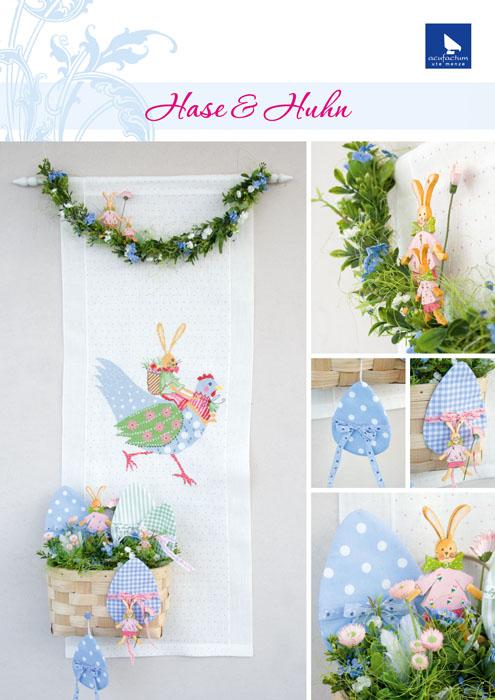 Набор для вышивания Acufactum Кролик и курица, 28 х 35 см282169В наборе для вышивания Acufactum Кролик и курица есть все необходимое для создания собственного чуда: 12-ти ниточный лен (основа для вышивки), однониточное матовое мулине, цветная символьная схема и игла. Красивый и стильный рисунок-вышивка, выполненный на канве и оформленный забавным изображением кролика и курицы, выглядит оригинально и всегда модно. Благодаря такому набору вы получаете возможность вышить прекрасную картину. Наборы для вышивания Acufactum не производятся в промышленных масштабах, что говорит об их эксклюзивности. Оригинальные сюжеты Ute Menze с проработанной схемой доставят вам массу удовольствия во время творчества. А готовые работы не останутся не замеченными вашими друзьями! Acufactum - это синоним восхитительного стиля!