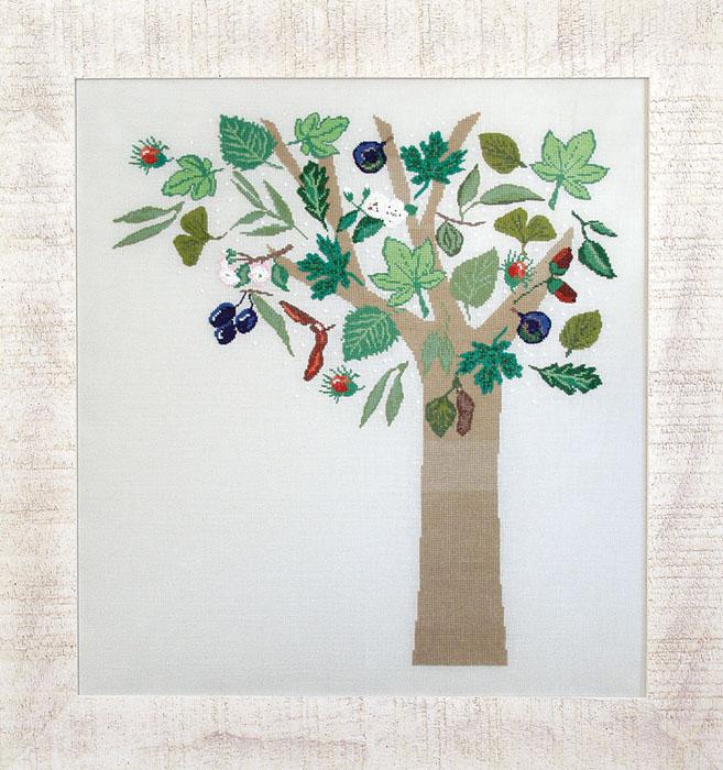 Набор для вышивания Acufactum Осенние дерево, 48 х 43 см2484В наборе для вышивания Acufactum Осеннее дерево есть все необходимое для создания собственного чуда: 12-ти ниточный лен (основа для вышивки), однониточное матовое мулине, цветная символьная схема и игла. Красивый и стильный рисунок-вышивка, оформленный изображением необычного осеннего дерева, выглядит оригинально и всегда модно. Благодаря такому набору вы получаете возможность вышить прекрасную картину. Наборы для вышивания Acufactum не производятся в промышленных масштабах, что говорит об их эксклюзивности. Оригинальные сюжеты Ute Menze с проработанной схемой доставят вам массу удовольствия во время творчества. А готовые работы не останутся не замеченными вашими друзьями! Acufactum - это синоним восхитительного стиля!
