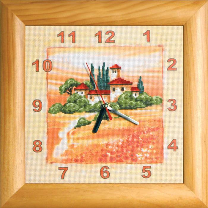 Набор для вышивания Schaefer Часы, с частичной вышивкой, 32 х 32 см. 588/2588/2В наборе для вышивания часов Schaefer есть все необходимое для создания собственного чуда: канва Aida с нанесенным рисунком, деревянная рамка, задняя сторона картины, нитки-мулине, игла, часовой механизм со стрелками, инструкция. Добавьте в свой интерьер часы собственного производства. Ваши гости будут искренне удивлены вашему мастерству. Поверьте, это будут эксклюзивные часы, так как вышить одинаково даже один и тот же набор невозможно!