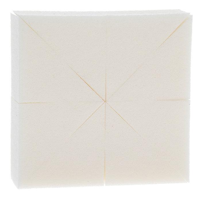 Artdeco Набор спонжей для макияжа, 8 шт6090Набор состоит из 8 треугольных спонжей. Спонж обеспечивает идеальное, равномерное и быстрое нанесение кремообразных и сухих тональных средств. Соприкосновение с кожей происходит максимально бережно. Все спонжи Artdeco маслоотталкивающие, сделаны из инновационных материалов в Японии. Характеристики: Размер одного спонжа: 5 см х 3 см х 2,5 см. Производитель: Германия. Артикул: 6090. Товар сертифицирован.
