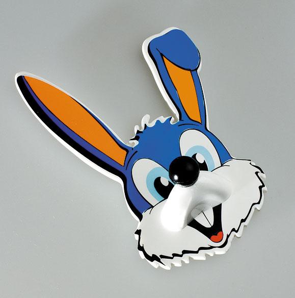 Крючок Кролик, самоклеящийся1920.111Крючок изготовлен из полистирола и оформлен в виде забавной мордашки кролика. Он прекрасно подойдет для ванной комнаты, детской или кухни, надежно выдержав все, что вы на него повесите. Крючок Кролик крепится на стену с помощью липкой ленты, которая находится на задней стороне крючка. Характеристики: Материал: полистирол. Размер крючка: 7 см х 11 см х 3 см. Производитель: Германия. Артикул: 1920.111.