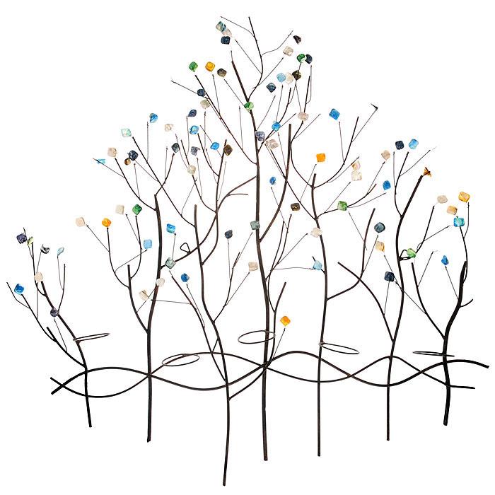 """Феникс-Презент Декоративный настенный подсвечник """"Ветви"""", 81 см х 7 см х 82,5 см 19163"""