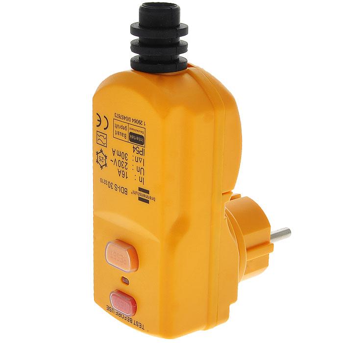 Вилка Brennenstuhl c защитой от поражения электрическим током1290640Вилка Brennenstuhl c защитой от поражения электрическим током. Идеальный выключатель для подключения часто используемых электрооборудований. Характеристики: Материал: пластик, металл. Размеры устройства: 12 см х 9 см х 5 см. Размер упаковки: 15 см х 23 см х 10 см.