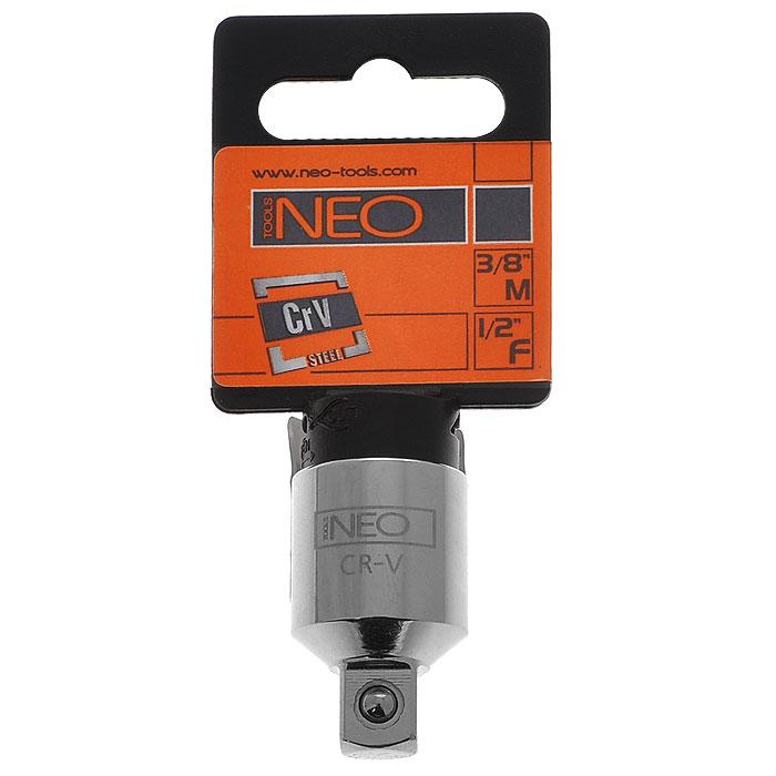 Переходник Neo с 1/2 на 3/808-563Переходник Neo предназначен для установки на трещотку более меньших/больших головок по размеру.