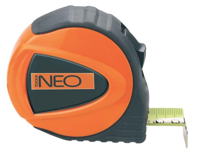 "Рулетка ""Neo"" с ударопрочным корпусом, 3 м х 19 мм 67-123"